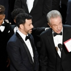 Academy Awards stunner: Surprise winner Moonlight steals Oscars stage